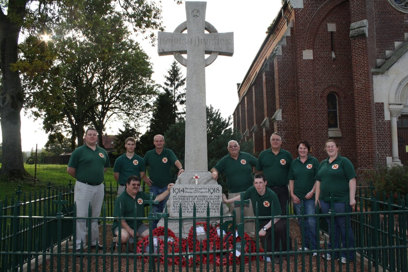 16th (Irish) Division memorial on the Somme