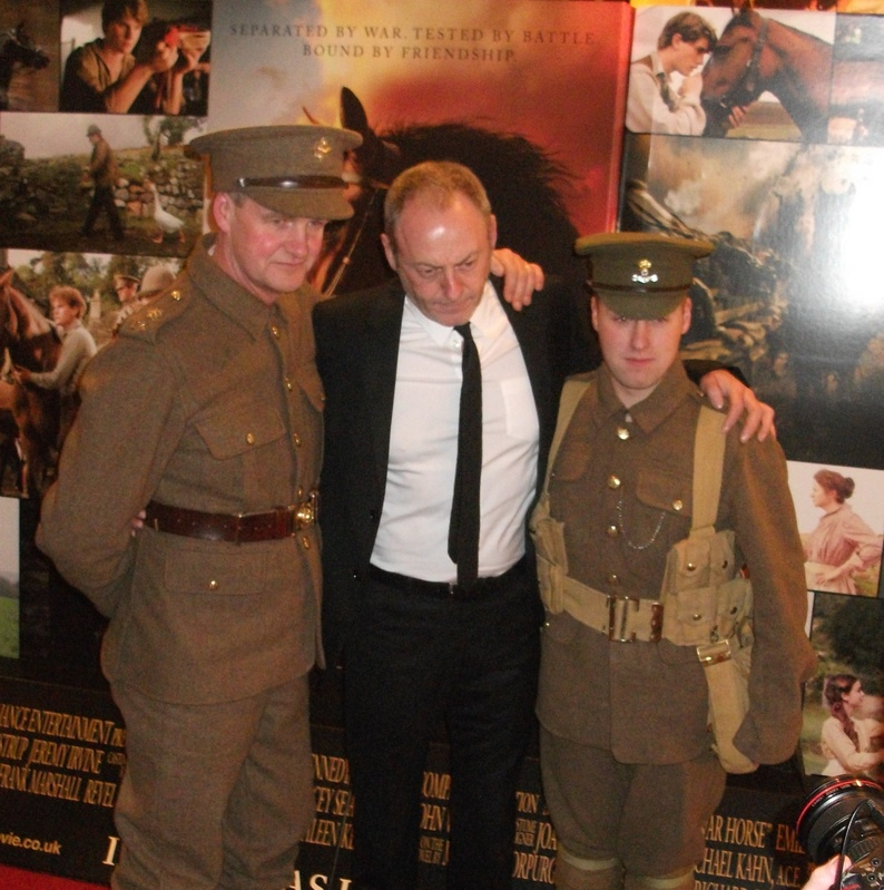 Brian & Noel with Actor Liam Cunningham