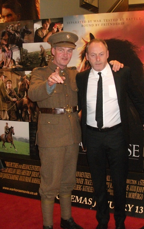 Brian Kenny with Liam Cunningham